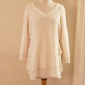 LOFT Sweater cream color.